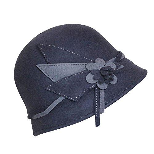 Chapeau-tendance - Chapeau femme cloche gris Sophia - - Femme