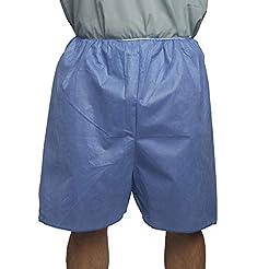 MediChoice Exam Shorts, Elastic Waist Ba...