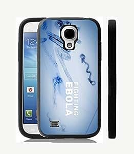 Case Cover Design Ebora Virus EB08 for Samsung S4 mini Border Rubber Pvc Case Black@pattayamart