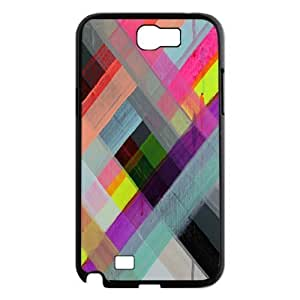 Colorful Stripes Design Personalized Cover Case for Samsung Galaxy Note 2 N7100,customized phone case dagongsi602096