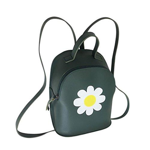 BZLine® Frauen Solide Handtasche Schultertasche Messenger Bag taschen Grün