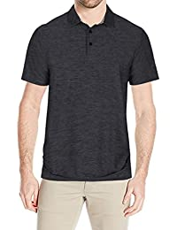 "<span class=""a-offscreen"">[Sponsored]</span>Men's Casual Elastic Active Wear Dry Fit Golf Polo Shirts 2 Button Athletic Long Sleeve Polo T Shirt"