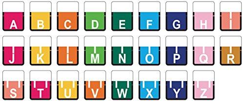 TAB COMPATIBLE 59702906 1307 Color Code Label, Permanent, Alpha 1