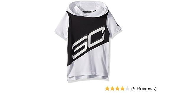897bdc4cf074 Amazon.com  Under Armour Boys  SC30 Short Sleeve Hoodie  Sports   Outdoors