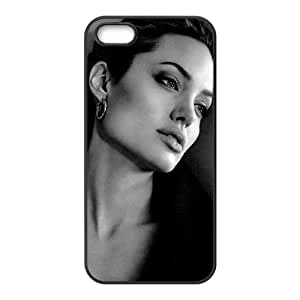 Lucky Angelina Jolie St. John Cell For HTC One M7 Phone Case Cover