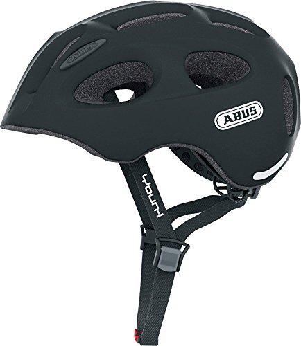 Abus Fahrradhelm Youn-I, velvet black, 52-57 cm, 12807-3
