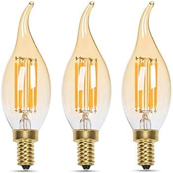 Sylvania Vintage Led Light Bulb 40w Equivalent Bent Tip
