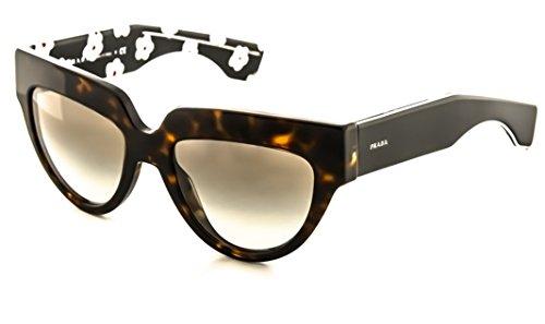 Prada Sunglasses SPR 29P Havana 2AU-0A7 - Cat Havana Eye Prada Sunglasses