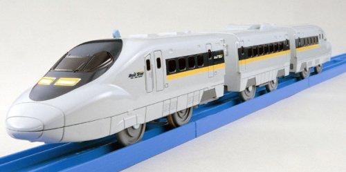 Tomica PraRail Bullet Train S-05 Shinkanen Series 700 With Light (Model Train) by Takara Tomy ()
