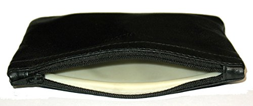 Castleford Zippered Leather Rectangle Pipe Tobacco Pouch