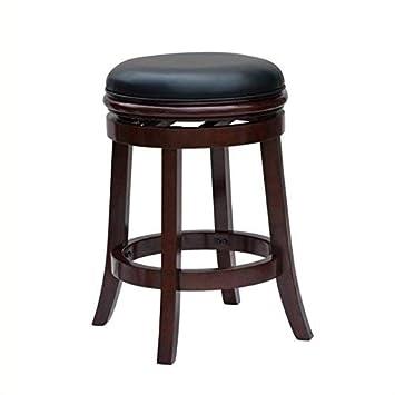Admirable Boraam Backless Bar Height Stool 29 Inch Cherry Short Links Chair Design For Home Short Linksinfo