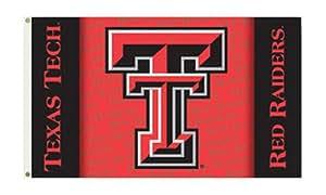 NCAA Texas Tech–3'x 5' Polyester bandera