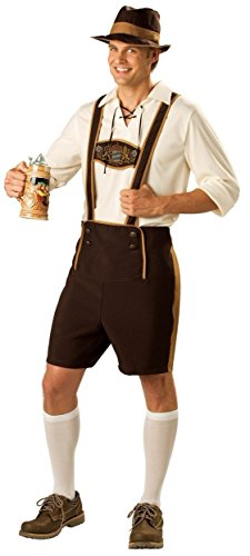 Bavarian Guy Costume - XX-Large - Chest Size 50-52 -