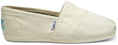 TOMS Women's Classic Canvas Slip-on (7.5 B(M) US / 38 EUR, Natural) ()