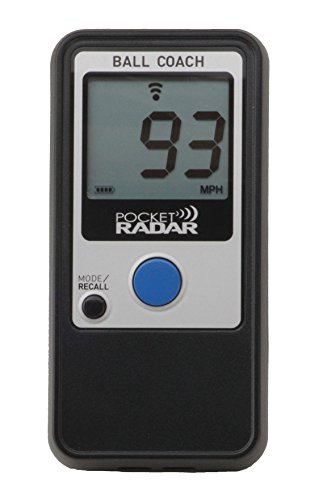 Pocket Radar Ball Coach / Pro-Level Speed Training Tool and Radar Gun (Bat Speed Radar)