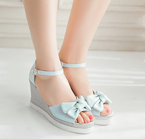 Noeud Belle Aisun Femme Chaussures Compens fwTXxnYqA