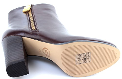 Tacon Nutme 40F7MGHE6L Zapatos Mujer Michael Margaret Kors Bootie Botãn Leather qfFpyxPwaC