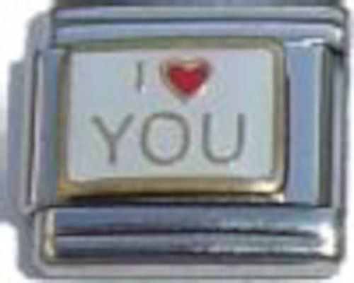 Love Italian Charm (I Love You Italian Charm)