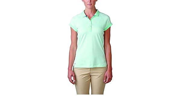 adidas Essentials Pique Damas Polo, Color Verde Menta: Amazon.es ...