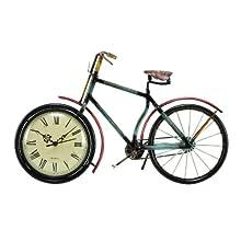 """Deco 79 39085 Metal Clock, 16""""x9"""""""