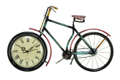 Metal Vintage Bicycle Clock