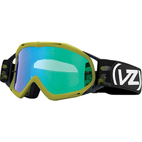 VonZipper Bushwick XT Adult Off-Road Motorcycle Goggles - Olive Camo/Quasar Chrome/One ()