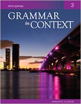 Grammar in Context, Book 1
