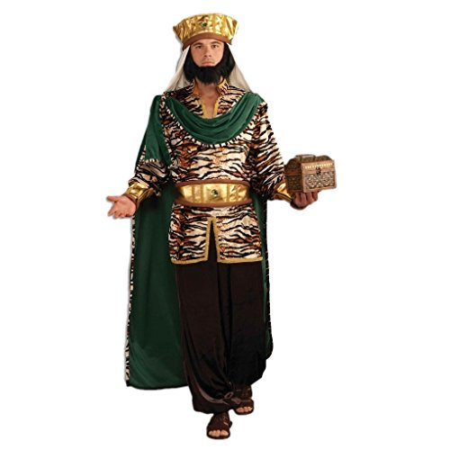 [Adult size Christmas Nativity Costumes - Emerald Wiseman] (Green Wiseman Costumes For Men)