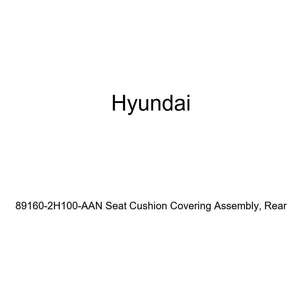 Rear Genuine Hyundai 89160-2H100-AAN Seat Cushion Covering Assembly