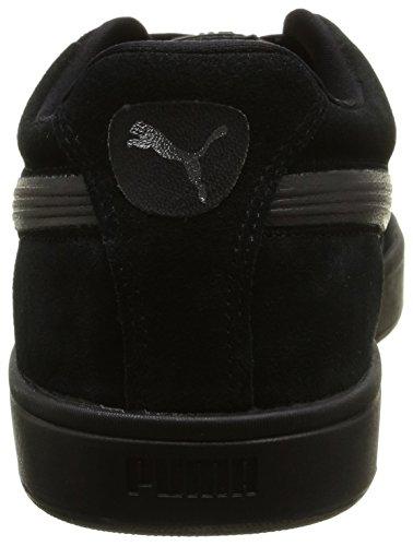 black Unisex Puma Negro S6 Adulto Zapatilla puma Suede Black S Silver black Baja 1xaxz4n