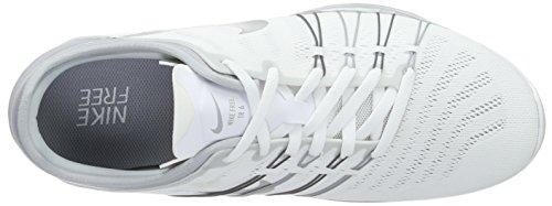 Free 6 Weiß Damen Silver Metallic White wlf Grey Hallenschuhe Nike Trainer wpUwx7