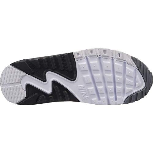 Bambino da Scarpe Mesh Ginnastica GS 90 Nike Grigio Max Air qwa8S8