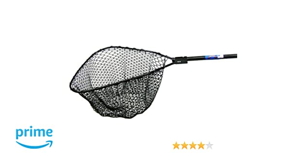 Ranger 993R Hook-Free and Tangle Free Molded Rubber Knotless Landing Net