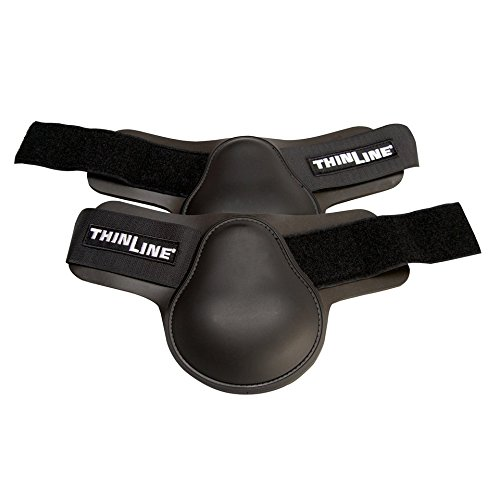 (Thinline Ankle Fetlock Hind Horse Boot Black)