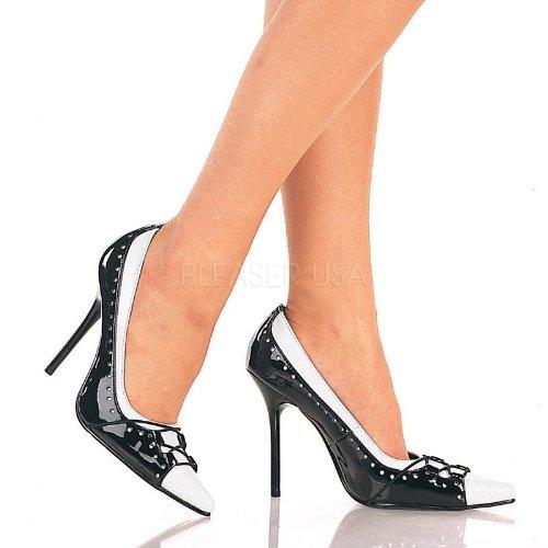 Pleaser Milan-09 - Sexy spitz geschnittene Pumps High Heels 35-45