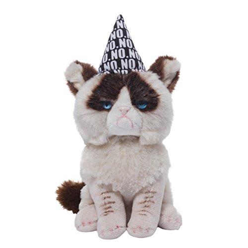 Grumpy Cat Plush Toy - Gund Grumpy Cat Birthday