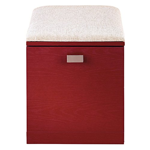 See Jane Work(R) Kate File/Seat, 18 1/2in.H x 15 3/8in.W x 18 1/8in.D, Red
