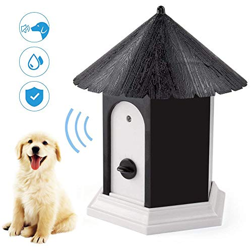 YC° Outdoor Bark Control Device, Anti Barking Device, Ultrasonic Stop Dog Bark Deterrents with Adjustable Ultrasonic…
