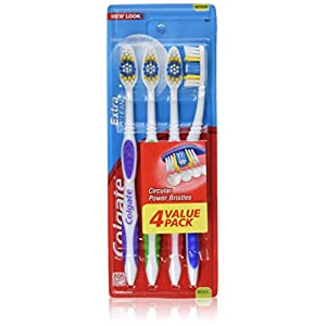 Ratings and reviews for Colgate Extra Clean Full Head Toothbrush, Medium - 4 Count (Pack Of 3)
