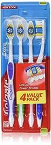 Colgate Extra Clean Full Head Toothbrush, Medium - 4 Count (3 Pack)