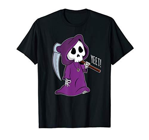 Circle Game Shirt Funny Grim Reaper Halloween Yeet ()