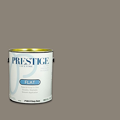 Prestige Interior Paint and Primer In One, 1-Gallon, Flat...