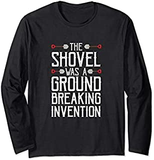 Best Gift Funny Dad Joke Shovel Quote Gift for Husband Father Long Sleeve  Need Funny TShirt / S - 5Xl