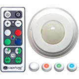 Hoover Multi-Color LED Accent Lights with Remote Control-5 Pack