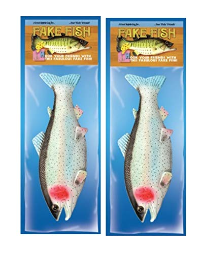 (Loftus International Gigantic Rubber Fish - Pack of)