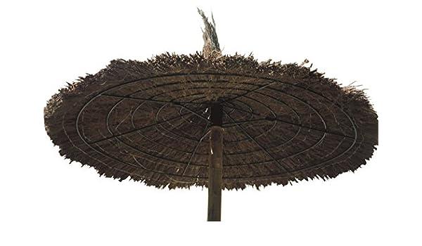 Faura 25002 Sombrilla de Brezo 300 x 186 x 30 cm: Amazon.es: Jardín
