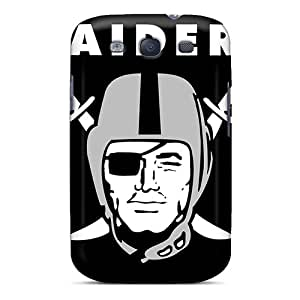 InesWeldon Samsung Galaxy S3 Scratch Protection Phone Cover Custom Fashion Oakland Raiders Pictures [zLk15266zjmE]
