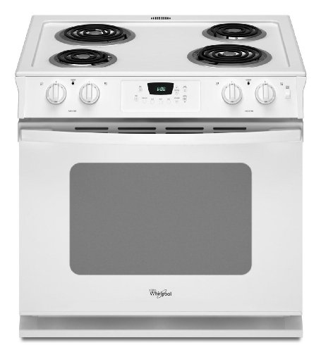 WHIRLPOOL RANGES, OVENS & COOKTOPS 109014 4.5 cu. ft. Drop-In Electric Range, 30', White