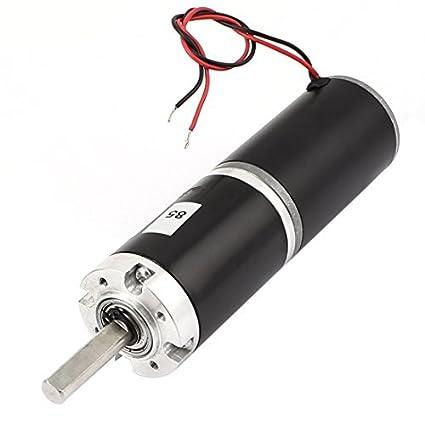 DC12V 18RPM 36mm Diámetro del esfuerzo de torsión del motor DC Caja de engranajes reductor de