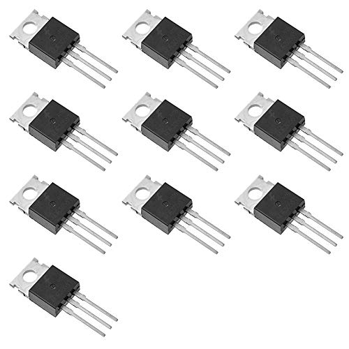 Bridgold 10pcs MJE3055T MJE3055 NPN Bipolar (BJT) Single Transistor,10 A/60V,is Designed for General Purpose of Amplifier andswitching Applications